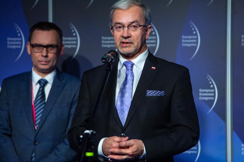 Jerzy  Kwieciński, minister inwestycji i rozwoju.