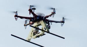 Na Śląsku testują drony w nietypowym zastosowaniu