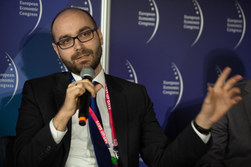 Nicolai von Ondarza: w dzisiejszym świecie na czoło wysuwają się Stany Zjednoczone, które postrzegają Unię Europejską jako konkurenta. Fot. PTWP