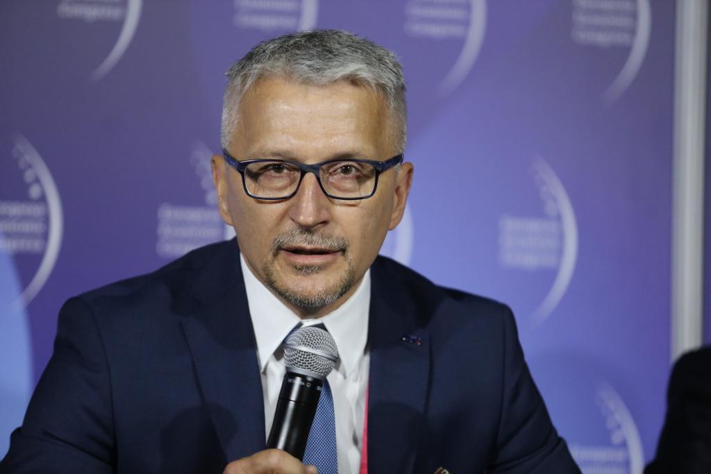 Ignacy Góra, prezes Urzędu Transportu Kolejowego (fot. PTWP)