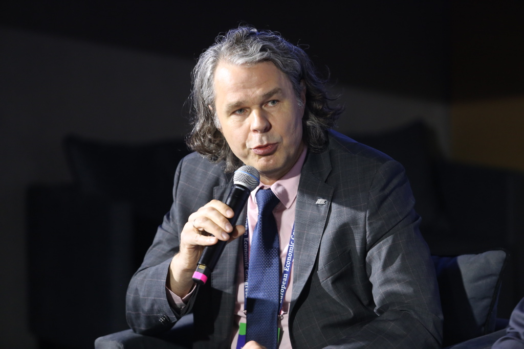 Artur Resmer, członek zarządu PKP Intercity (fot. PTWP)