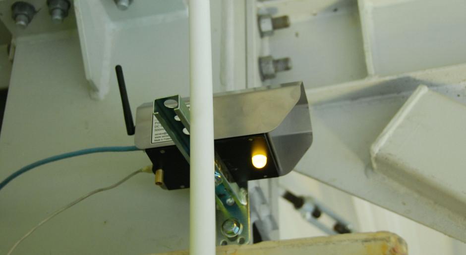 Sensor laserowy, fot. mat. pras.