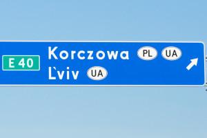 Będzie już można pojechać drogą na Lwów, nie tylko na L'viv