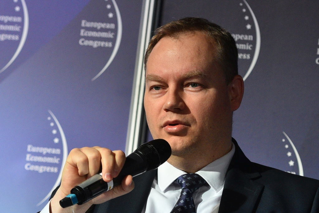 Tomasz Dąbrowski, wiceminister energii (Fot. PTWP)
