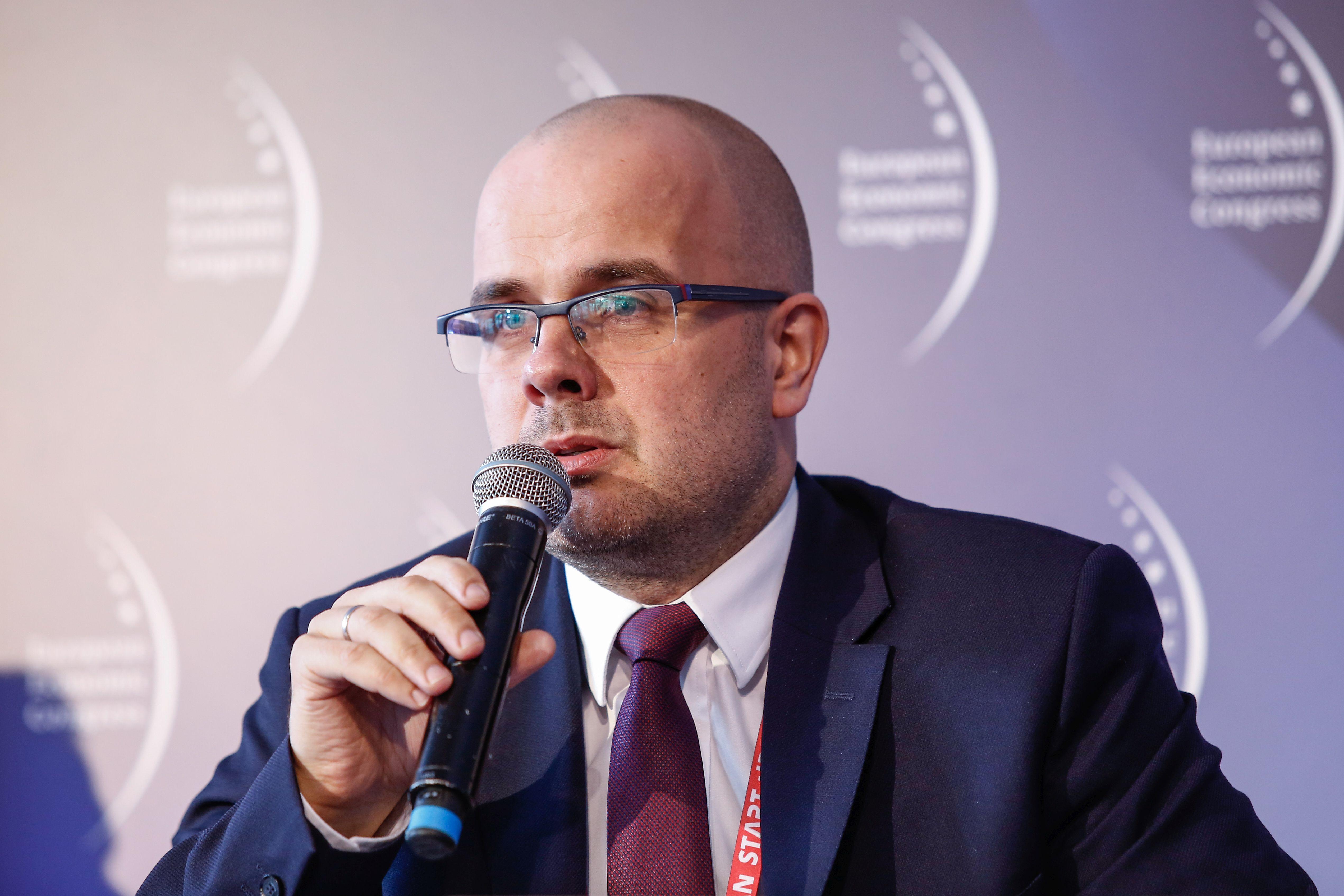 Szymon Byliński, dyrektor Departamentu Innowacji i Rozwoju Technologii w Ministerstwie Energii (fot. PTWP)