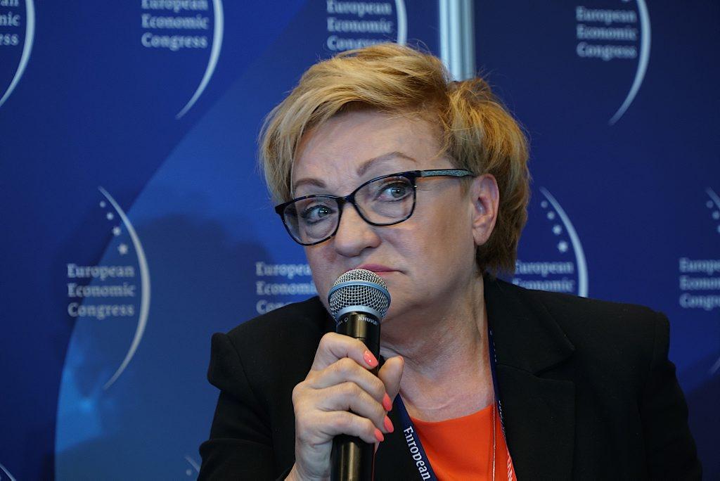 Posłanka PO Mirosława Nykiel