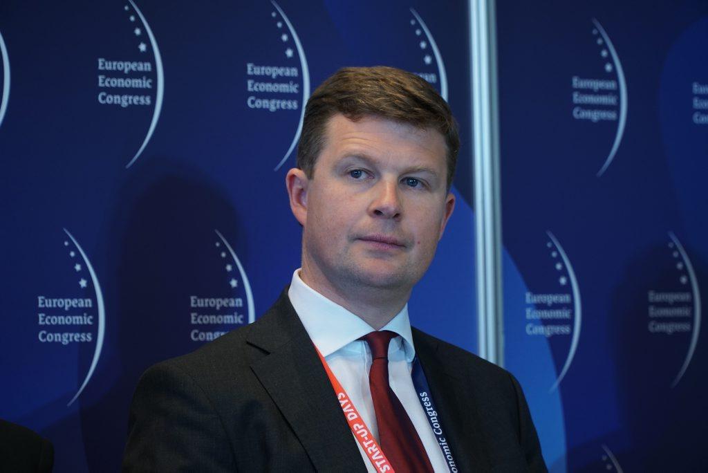 Paweł Przybylski z firmy Siemens
