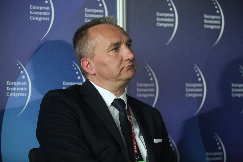 Leszek Borowiec, członek zarządu ds. finansowych PKP Cargo. Fot. PTWP