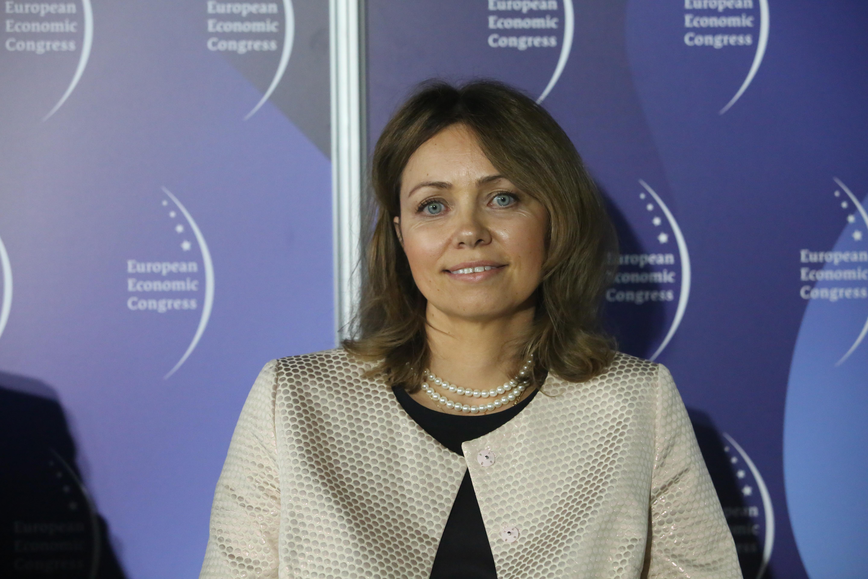 Karolina Żelawska-Pałasz z Europejskiego Banku Inwestycyjnego. Fot. PTWP
