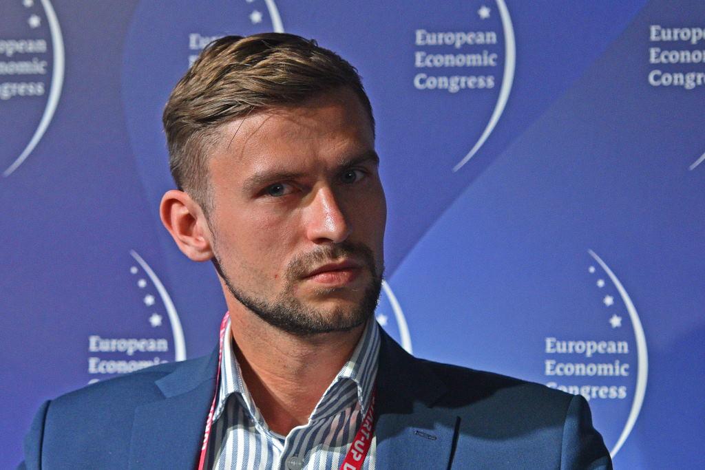 Łukasz Chrabański, kierownik biura handlowego Polskiej Agencji Inwestycji i Handlu we Frankfurcie. Fot. PTWP