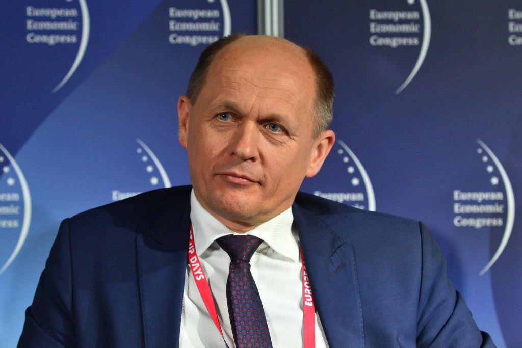 Jerzy Śledziewski, wiceprezes zarządu BNP Paribas Bank Polska. Fot. PTWP