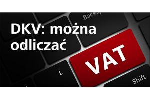 Odliczanie VAT z kartą DKV potwierdzone
