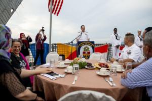 Okręty marynarki wojennej USA blisko Chin