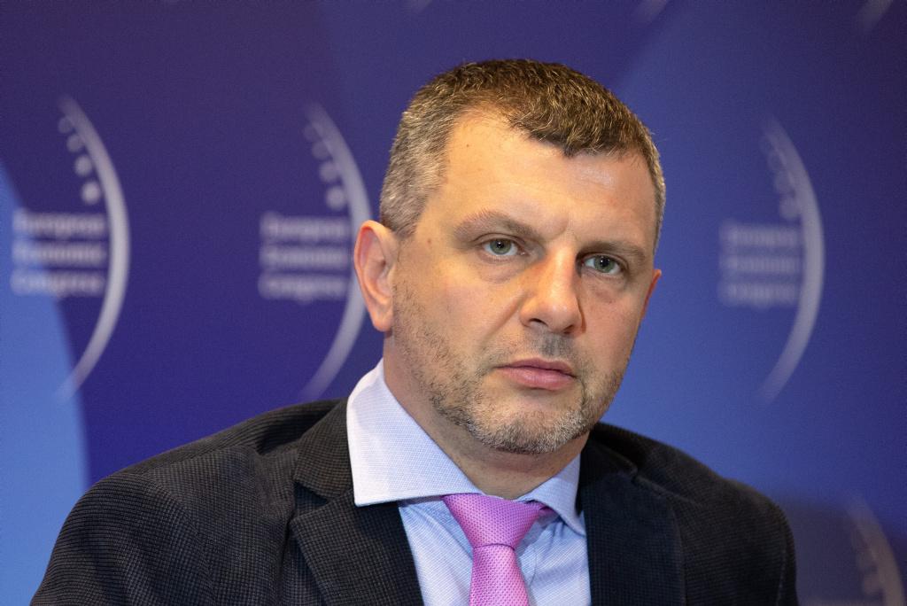 Piotr Zawistowski, prezes zarządu, Towarowej Giełdy Energii. Fot. ptwp