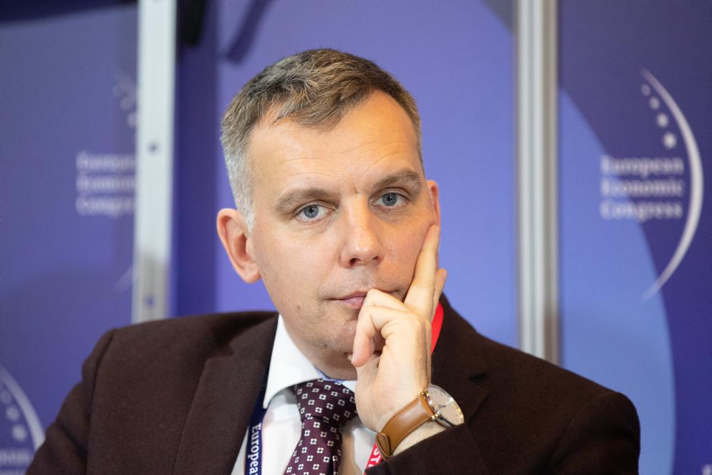 Patryk Demski, wiceprezes Grupa Lotos. Fot. ptwp.