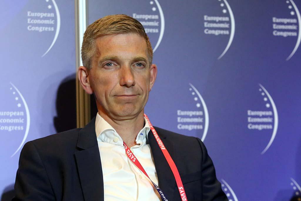 Jarosław Oleszczuk, prezes AstraZeneca (fot. PTWP)
