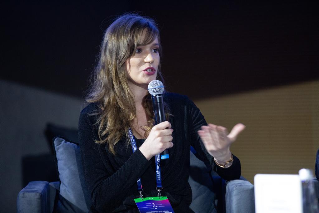 Natalia Cieślewicz, alumn Fundacji im. Lesława A. Pagi