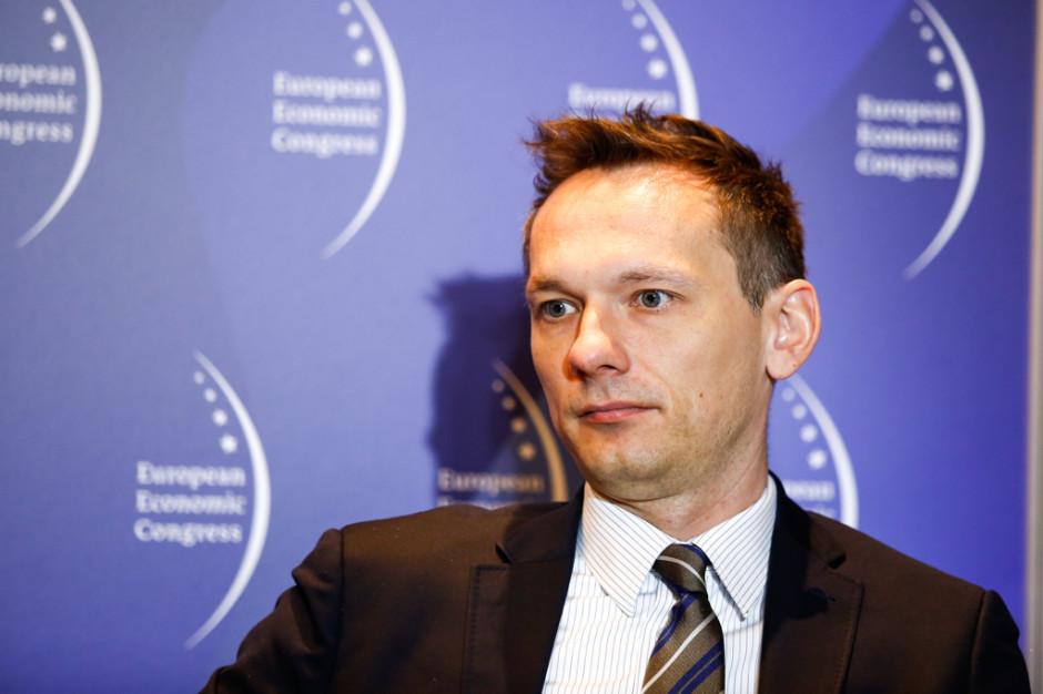 Paweł Wojtkiewicz, prezes Związku Pracodawców Sektora Kosmicznego. Fot. PTWP