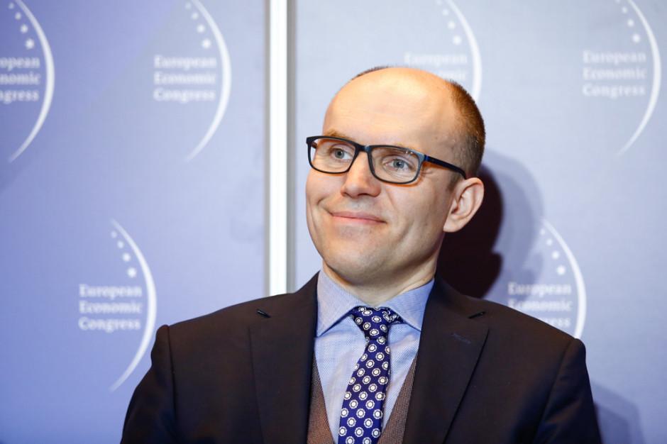 Michał Szaniawski, p.o. prezesa Polskiej Agencji Kosmicznej. Fot. PTWP