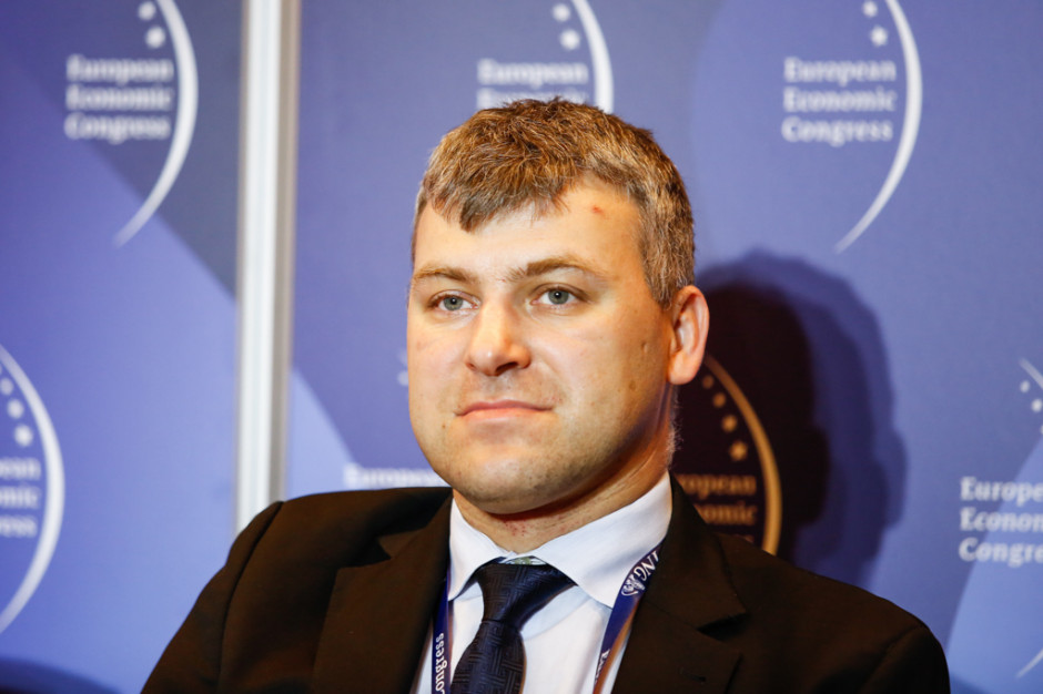 Adam Piotrowski, prezes firmy Vigo System. Fot. PTWP