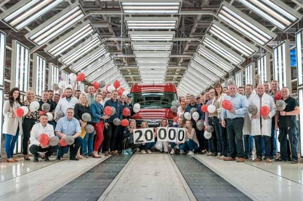 Volkswagen Poznań wyprodukował już 20 tys. aut MAN TGE