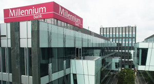 Bank Millenium korzysta na przejęciu EuroBanku