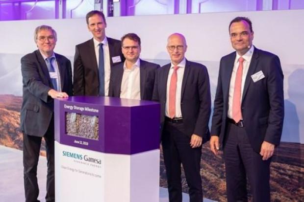 Siemens Gamesa rozpoczyna eksploatację innowacyjnego systemu magazynowania energii