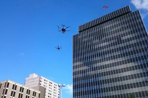 Prezydent Duda w Reno w USA obejrzał testy dronów
