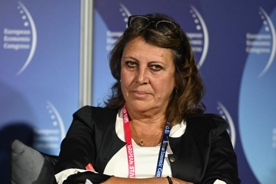 Hanna Stypułkowska-Goutierre, prezes PolChambers - Polskie Izby Handlowe za Granicą. Fot. PTWP