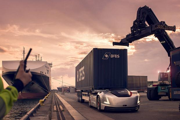 Volvo Trucks umieściło w porcie w Göteborgu autonomiczne ciężarówki