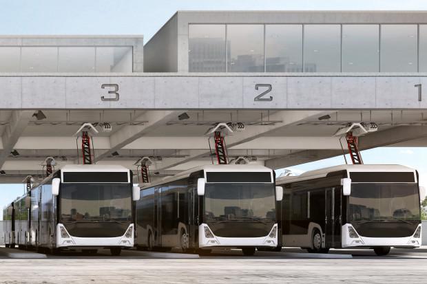 Automatyczny pantograf ABB naładuje 3 autobusy jednocześnie