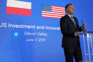 Andrzej Duda: Polska ma ambicje być hubem energetycznym Europy Centralnej