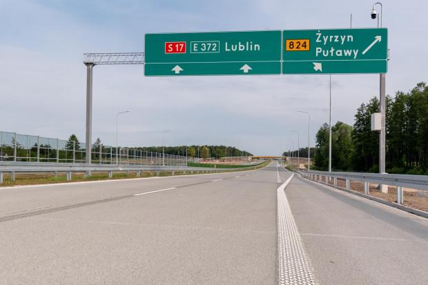 Droga ekspresowa S17 Skrudki - Kurów Zachód otwarta