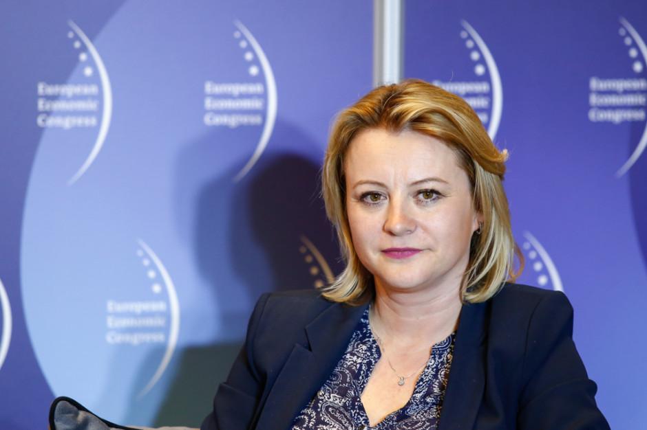 Ewa Urbaniak, dyrektor zarządzająca fabryką L'Oréal Warsaw Plant. Fot. PTWP