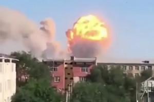 Ogromny wybuch, ewakuowali 45 tys. ludzi. Zobacz wideo