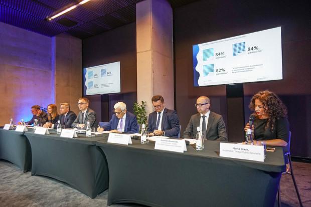 Konferencja prasowa podsumowująca Europejski Kongres Gospodarczy i European Start-up Days odbyła się 24 czerwca 2019 r. w Katowicach. Fot. PTWP (Michał Oleksy)