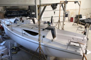Produkcja jachtu
