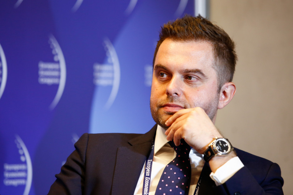 Janusz Władyczak, prezes zarządu KUKE. Fot. PTWP