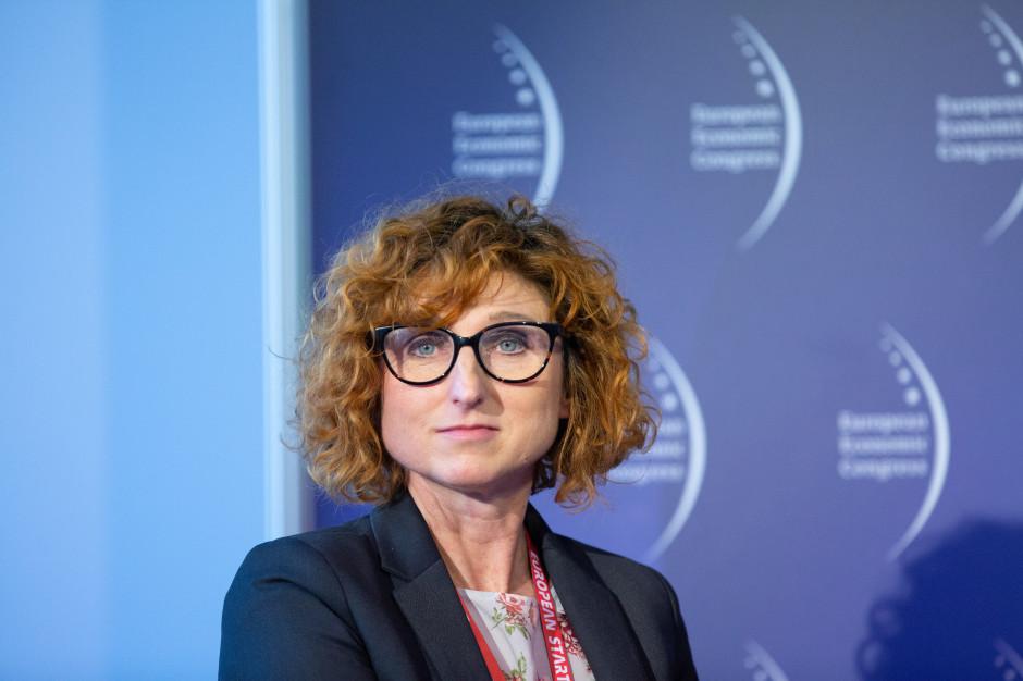 Agnieszka Jakubiak, koordynator projektu energia i odnawialne źródła energii z działu koordynatorów Narodowego Centrum Badań i Rozwoju (NCBiR)
