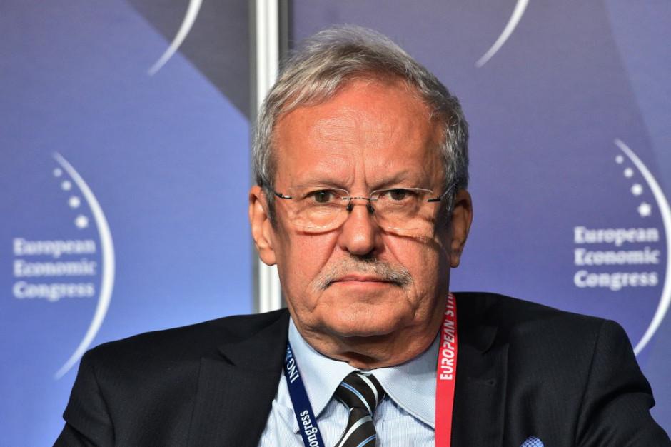 Janusz Steinhoff, przewodniczący rady Krajowej Izby Gospodarczej (KIG), wicepremier i minister gospodarki w latach 1997-2001. Fot. PTWP