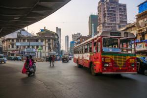 Chaos komunikacyjny w Bombaju