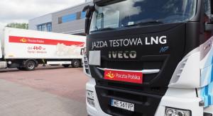 Poczta Polska testuje ciężarówkę na LNG