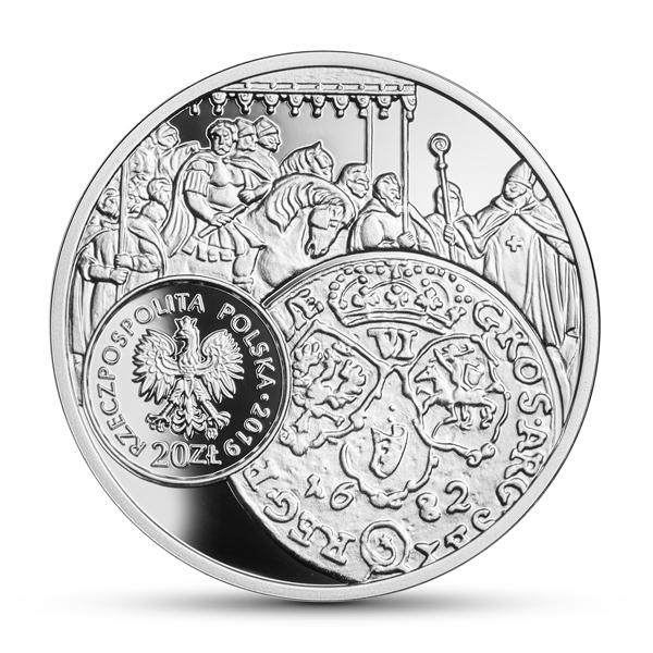Awers monety (fot. NBP)