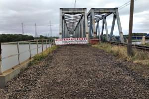 Tak wyremontują ten most, że pociągi zwiększą po nim prędkość sześciokrotnie