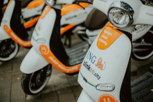 Kilkaset elektrycznych skuterów wyjechało na ulice polskich miast