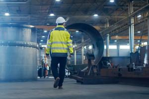 Spadek produkcji przemysłowej w Polsce