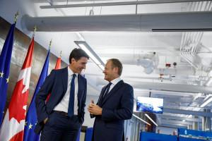 Kanada zbliża się z Unią Europejską mimo protestów opozycji