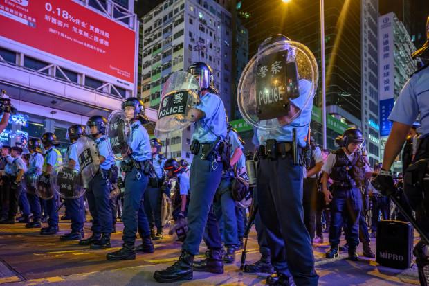 #TydzienwAzji: Coraz gwałtowniejsze protesty w Hongkongu