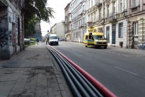 Ten kabel znacznie poprawi pewność zasilania w centrum Łodzi