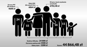 Dzięki PiS polska rodzina mogła zyskać 45 tys. zł rocznie